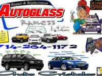 REQUIREMENT AN AUTO GLASS REPLACEMENT ?? AS SOON AS