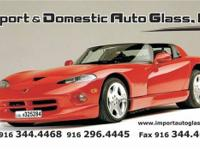 IMPORT & DOMESTIC AUTO GLASS specializes in repairing