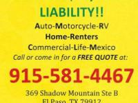 Auto INSURANCE, Lowest rate in town, as low as