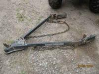 TOW BAR $75. PICKUP BOX TRAILER 5X6 $100. 1974