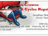 Customized Crowns Automotive & Cycles Repair work Inc.