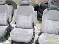 Auto seats Good condition  3951 N. Osprey Ave.