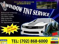 WINDOW TINTING.  Computerized CuT System.        Major