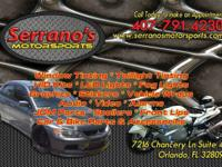 Auto Tint @ Serrano's Motorsports    Auto Tint Prices: