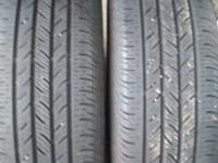 Four tires are P215/60 R16 (asking $15 each or all four