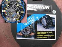 Auto traction z chains for small truck or suv. See