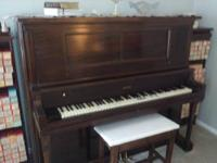 "This ""Auto tone player piano"" is a true ""collectors"