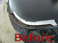 , if you have corrosion or rot that requires repaired