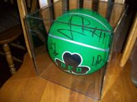 This is a celtics autograghed basketball,it was signned