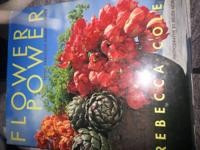"""Flower Power; Fresh Fabulous Arrangements"" book"