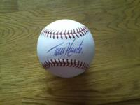 """This ball was bought directly from the Detroit Tiger"