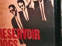 RESERVOIR DOGS: Full Size Movie Poster. Signed by