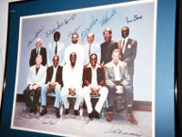 500 HOME RUN CLUB: Litho signed by: Mickey Mantle, Ted