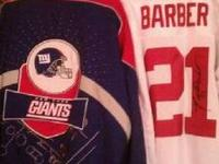 I have an authentic Tiki Barber autographed NY GIANTS