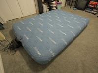 full size automatic inflatable mattress with fitted