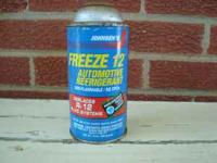 8 cans of Freeze 12 Refrigerant. Full cans $25 a can.