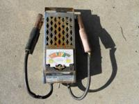take a look at the pics battery tester gas analizer
