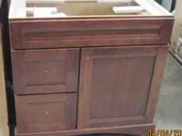 Autumn Blush 36 x 20 Vanity Solid Wood Retail Value