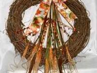 "Brand new handmade wreaths from ""Wreaths By Lisa"". This"