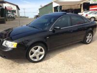 ATTRACTIVE BLACK BEAUTY, 2004 AUDI A6 3.0 L QUATTRTO 4