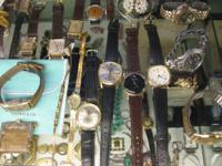 EVEN MORE & MORE WATCHES VINTAGE. STARTING 39.00.  We