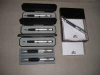 For sale is an Avalanche logo pad holder and pen. Also