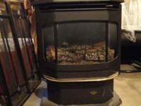 I have a just like new gas heating stove for sale. Its