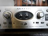 I have an Avalon U5 Direct box for sale. It runs about