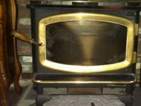 I have a beautiful Avalon wood stove with brass door