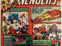 AVENGERS ANNUAL# 10 Summer 1981 Bronze Age KEY 1st
