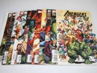 AVENGERS COMIC BOOKS COMPLEAT SET OF (12) MINT
