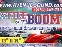 Avenue Sound is hosting their annual Battle of the BOOM