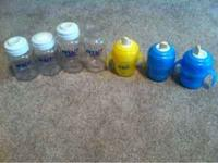 I have a set of 3 Avent bottles with lids/ caps , 1