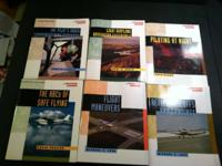 Aviation Practical Flying Series books.  Six books to