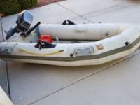 AVON Rover R2-80 R.I.B dinghy with hard floor and