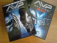 Hi, for sale here is the DVD set AVP: Aliens vs