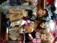 Awesome 1870s primative doll. She has actual horse hair