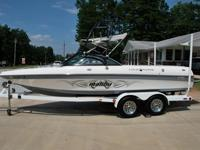 Really really nice 2003 Malibu 21 and a half foot VLX
