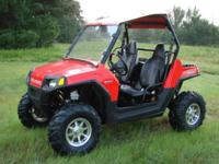 2008 Polaris Ranger RZR 800 4x4. SLICK looking, STRONG