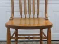 Awesome Antique Slat Back Wooden Chair $45 I have no