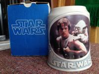 For sale: collectible large Star Wars beer stein