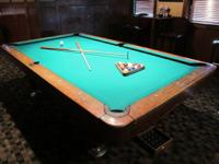 I have an awesome DIAMOND 4x8 Pool Table Package for