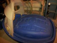 This is a Tuggy the Tugboat sandbox/pool from Step 2.
