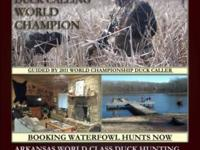 ARKANSAS Duck Hunts!! in the Duck Hunting Capital of