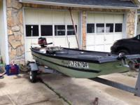 I have a great 12' jon boat for sale. Boat comes with