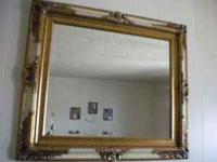Nice framed mirror in excellent condition, measures
