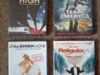 All in very good condition, all very good movies HIGH