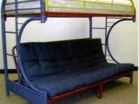 Brand name New- Very nice Twin over complete, futon