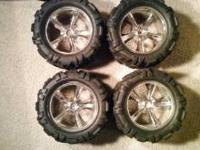 Have a set of BIG maybe 40 series? Wheels and tires for
