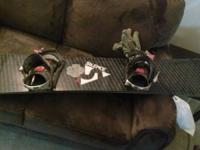 Two awesome snowboards with bindings already included.